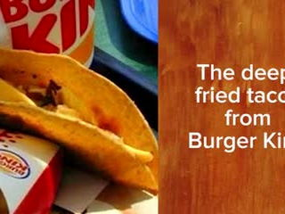 How Many Of These Discontinued Fast Food Items Do You Remember ?