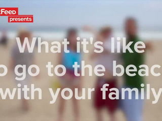 This Family At The Beach Is All Of Us