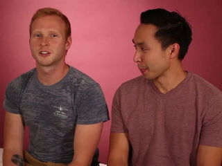 Guy Friends Try To Massage Each Other For The First Time