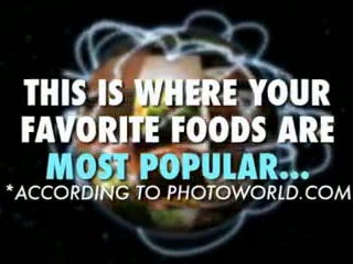The Most Popular Foods Around The World