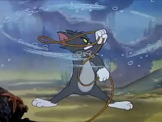 Tom and Jerry - The Cat and the Mermouse -