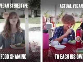 Vegan Stereotypes Vs. Actual Vegan