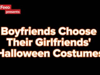 Boyfriends Choose Their Girlfriends Halloween Costumes