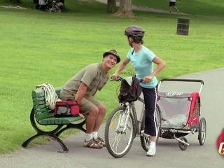 Biker Mom Forgets Baby