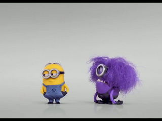 Evil Minion Wants Banana - DESPICABLE ME 2