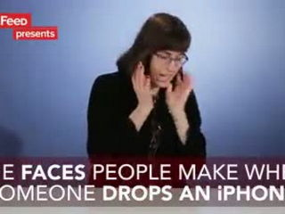 Broken iPhone Prank People Watch A Guy Drop His Phone In Slow Mo