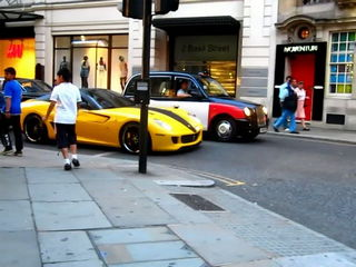 Ferrari Scares Kid