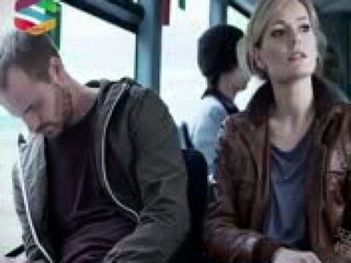 Man and Women in Bus