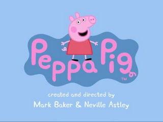 Peppa Pig- Swimming