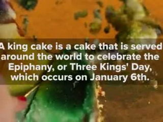 People Eat King Cake For The First Time
