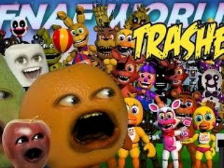 Fnaf World Trailer Trashed