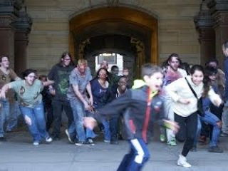 Zombie Apocalypse Prank