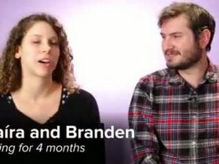 Bearded Women Kiss Their Boyfriends To Show Men How It Feels To Kiss A Beard