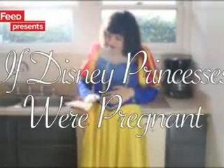 If Disney Princesses Were Pregnant