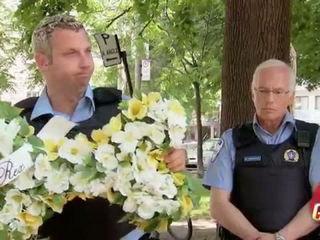 Police Dog Buried Alive Gag