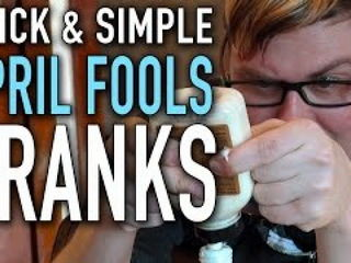 8 Quick & Simple Pranks