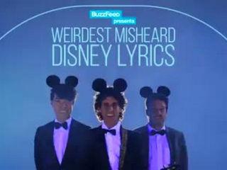 Weirdest Misheard Disney Lyrics