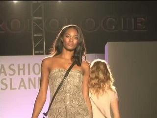 Hot Male Model Falls In Fashion Show