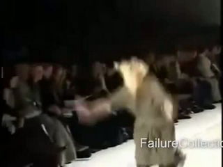 Model Fail Fall Compilation
