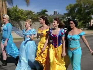 Disney Princess Pool Party