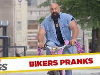 Bikers Pranks