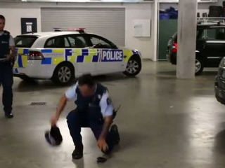 New Zealand Police Running Man Challenge