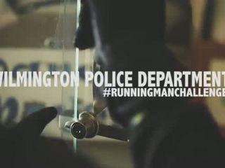 WILMINGTON POLICE RUNNING MAN CHALLENGE