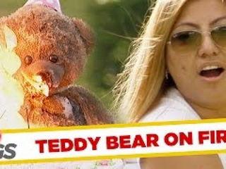 Evil Teddy Ruins Birthday Party!