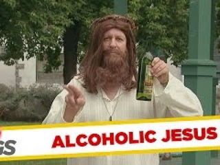 Alcoholic Jesus & Weird Cop Pranks