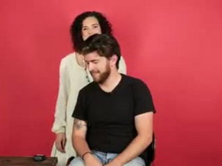 Girls Try Styling Guys' Hair