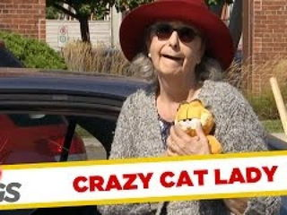 Crazy Cat Lady Prank