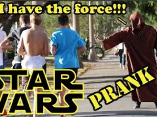 Star Wars Force Awakens Prank