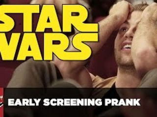 Star Wars Early Screening Prank
