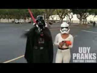 Star Wars Homeless Christmas Prank
