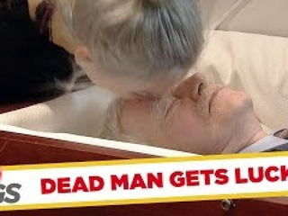 Wife Kisses DEAD Husband