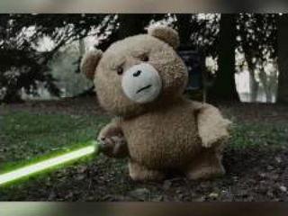 Ted meets Darth Vader