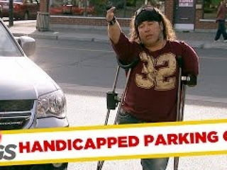 Stealing a Disabled Parking Spot