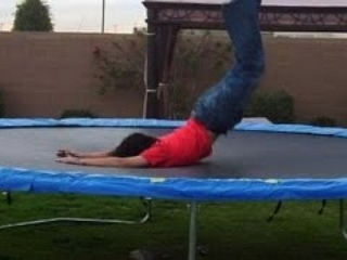 Trampoline jumpers failing at their best - Awesome funny fail compilation