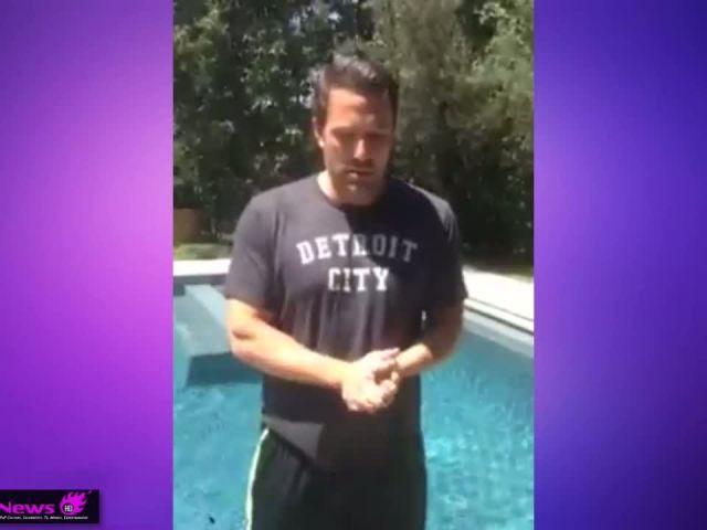 Ben Affleck - Ice Bucket Challenge - Jimmy Kimmel