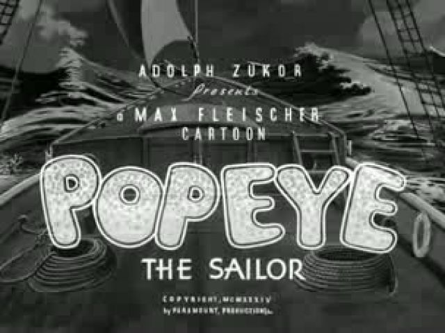 [FULL] Popeye The Sailor Man - Ep 17 The Dance Contest