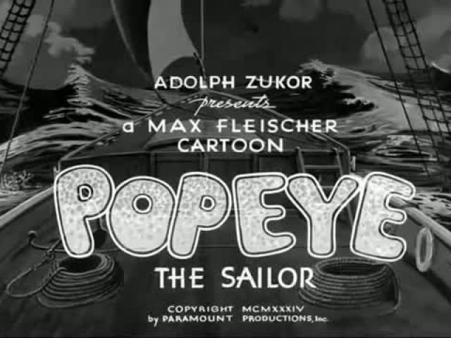 [FULL] Popeye The Sailor Man - Ep 15 Axe Me Another