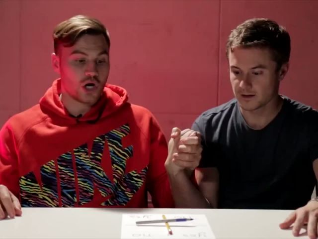 People Try The Charlie Charlie Challenge