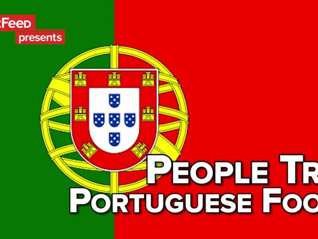People Try Portuguese Food