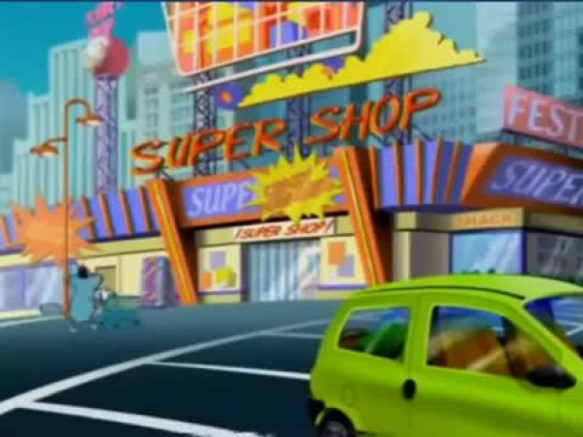 Oggy And The Cockroaches – Crazy Shopping -