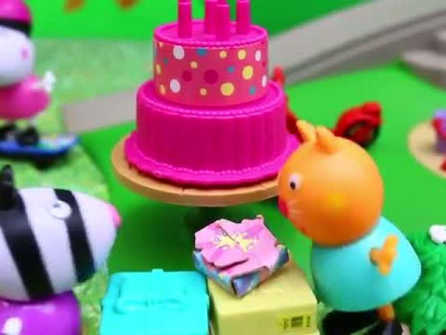 Peppa Pig - Park Playground Candy Cat