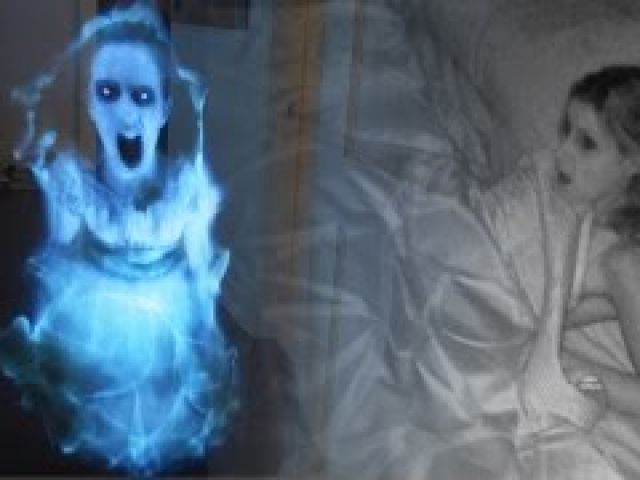 Epic Hologram Ghost Prank