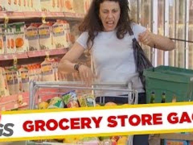 Grocery Store Pranks