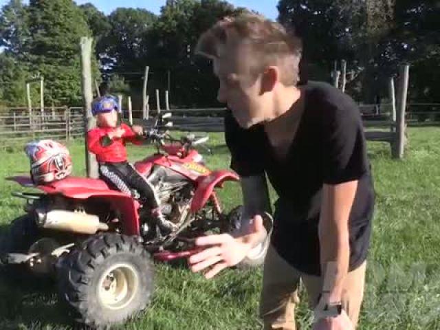 Blowing Up My Kid PRANK!!