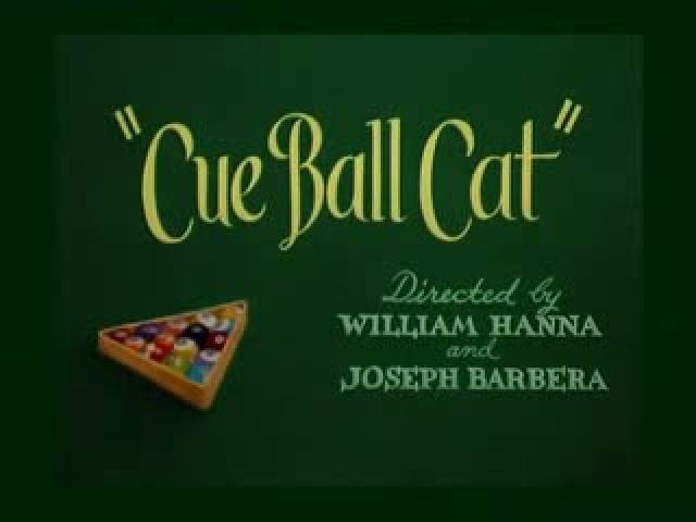 Tom and Jerry Cue Ball Cat 1950