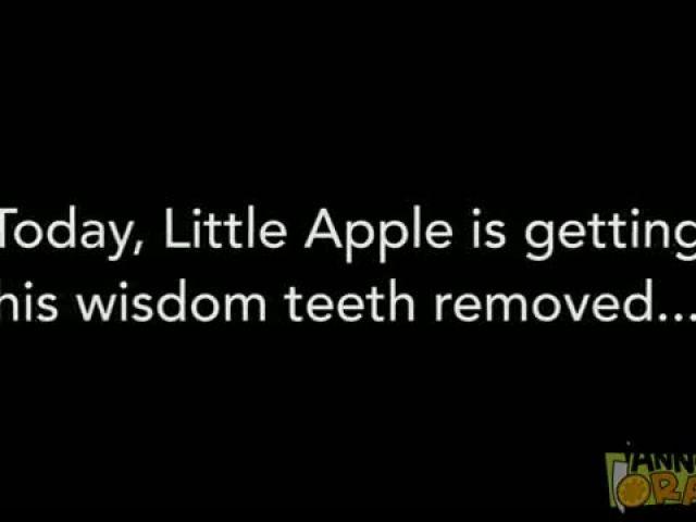 Fruits Convince Little Apple of Zombie Apocalypse